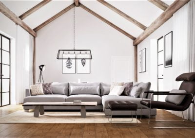 Pendrea Barns - Living Room